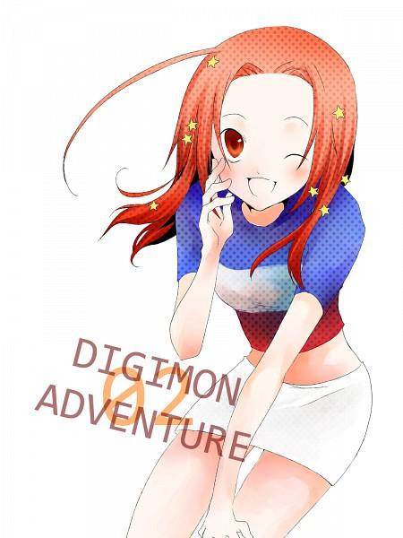 Tags: Anime, Pixiv Id 1583929, Digimon Adventure, Tachikawa Mimi