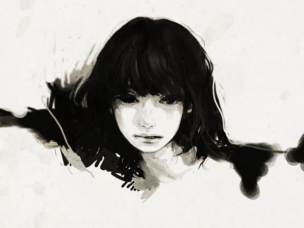 Tags: Anime, Tae4021, Black, Original, Pixiv