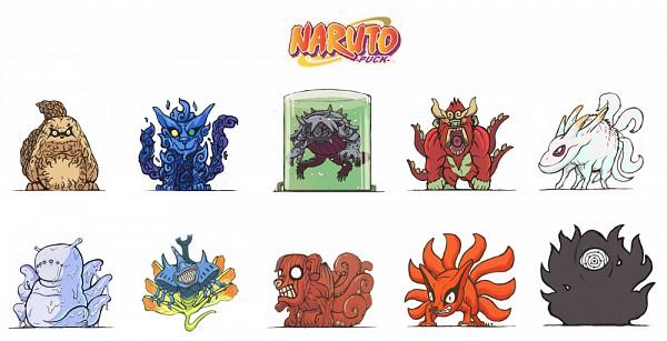 Tags: Anime, Harry-yu, NARUTO, Nanabi, Nibi no Bakeneko, Kyuubi (NARUTO), Rokubi, Gobi, Juubi, Yonbi, Shukaku, Hachibi, Sanbi no Kyodaigame