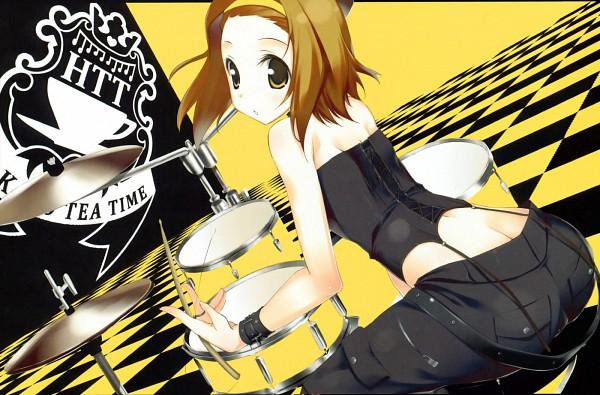 Tags: Anime, Kagome (Pixiv107450), K-ON!, Tainaka Ritsu, Drumsticks, Pixiv, Ritsu Tainaka