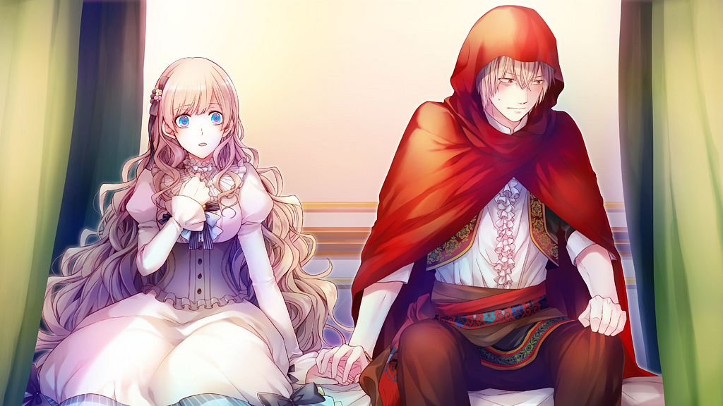 Tags: Anime, MELO (Pixiv3603676), Primula (Studio), Taishou x Alice, Red Riding Hood (Taishou x Alice), Arisu Yurika, Wallpaper, CG Art
