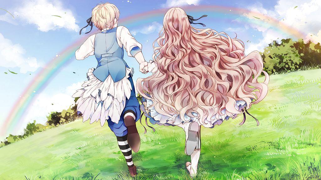Tags: Anime, MELO (Pixiv3603676), Primula (Studio), Taishou x Alice, Arisu Yurika, Alice (Taishou x Alice), Wallpaper, CG Art