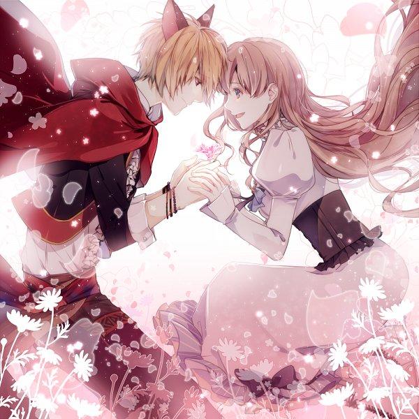 Tags: Anime, Pixiv Id 2350926, Primula (Studio), Taishou x Alice, Red Riding Hood (Taishou x Alice), Arisu Yurika, Fanart
