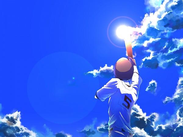 Tags: Anime, Tawashitobitamaru, Ookiku Furikabutte, Tajima Yuuichirou, Pixiv