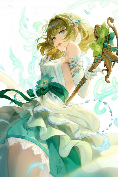 Tags: Anime, Ecens, THE iDOLM@STER: Cinderella Girls, Granblue Fantasy, Takagaki Kaede, Pixiv, Fanart, Fanart From Pixiv