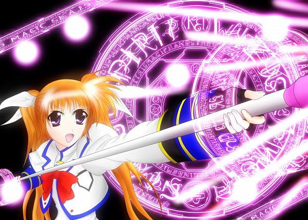Tags: Anime, Pixiv Id 6629182, Mahou Shoujo Lyrical Nanoha StrikerS, Mahou Shoujo Lyrical Nanoha, Takamachi Nanoha, Raising Heart, Fanart From Pixiv, Fanart, Pixiv