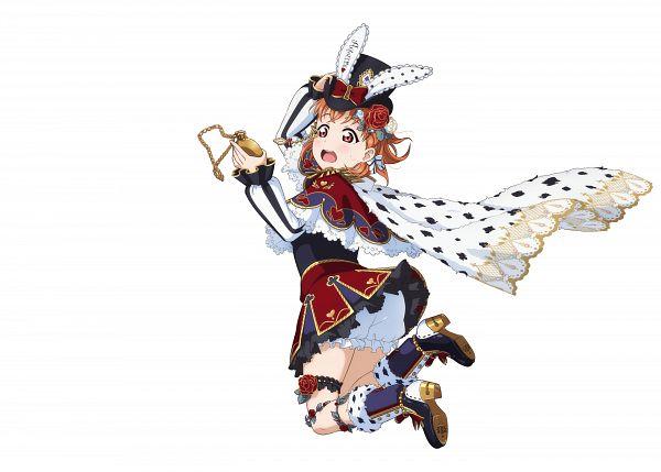 Tags: Anime, KLab, Love Live! Sunshine!!, Love Live! School Idol Festival, Takami Chika, White Underwear, Pocket Watch, Official Art, Chika Takami