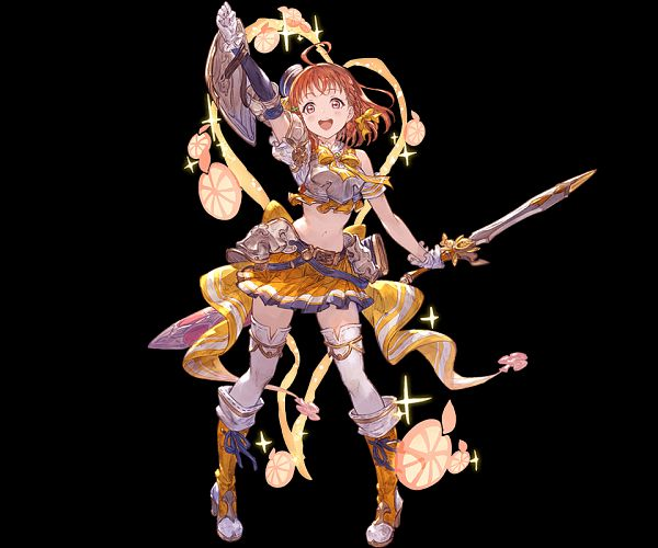 Tags: Anime, Minaba Hideo, Cygames, Love Live! Sunshine!!, Granblue Fantasy, Takami Chika, Official Art, Chika Takami