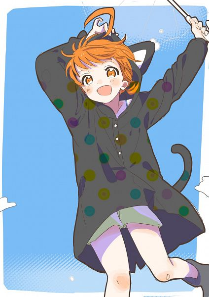 Tags: Anime, Pixiv Id 10051513, Love Live! Sunshine!!, Takami Chika, Cat Costume, Fanart From Pixiv, Pixiv, Fanart