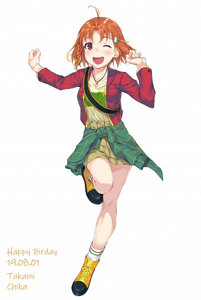 Tags: Anime, Pixiv Id 8432022, Love Live! Sunshine!!, Takami Chika