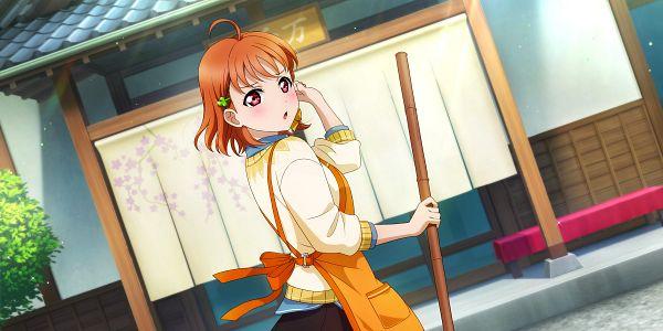 Tags: Anime, KLab, Love Live! Sunshine!!, Love Live! School Idol Festival ALL STARS, Takami Chika, Official Card Illustration, Official Art, Chika Takami