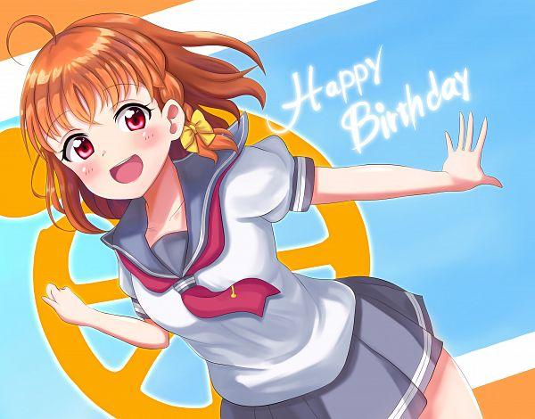 Tags: Anime, Pixiv Id 52124089, Love Live! Sunshine!!, Takami Chika, Fanart From Pixiv, Pixiv, Fanart