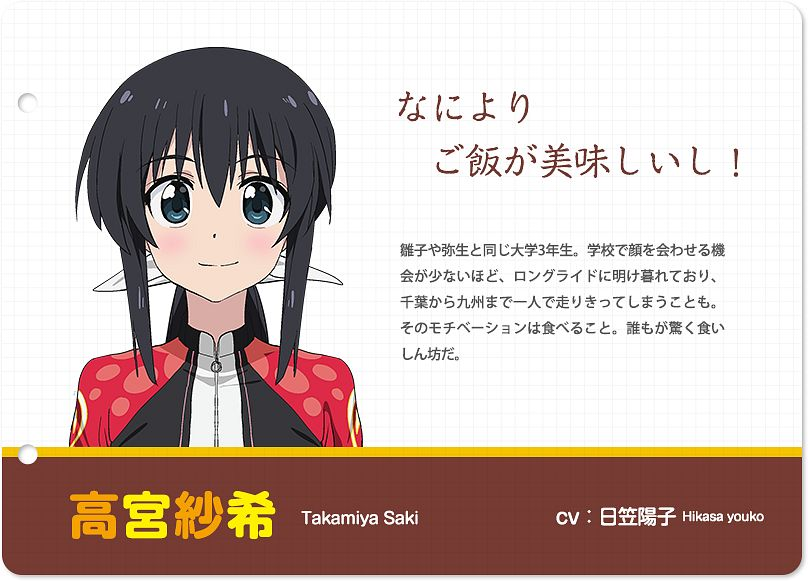Tags: Anime, Futsuzawa Jiemon, Actas, Long Riders!, Takamiya Saki, Official Art, Cover Image, PNG Conversion