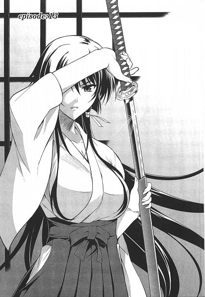 Tags: Anime, Ishigaki Takashi, âge, Muv-Luv Alternative - Total Eclipse, Takamura Yui, Official Art, Scan, Mobile Wallpaper, Manga Page, Chapter Cover