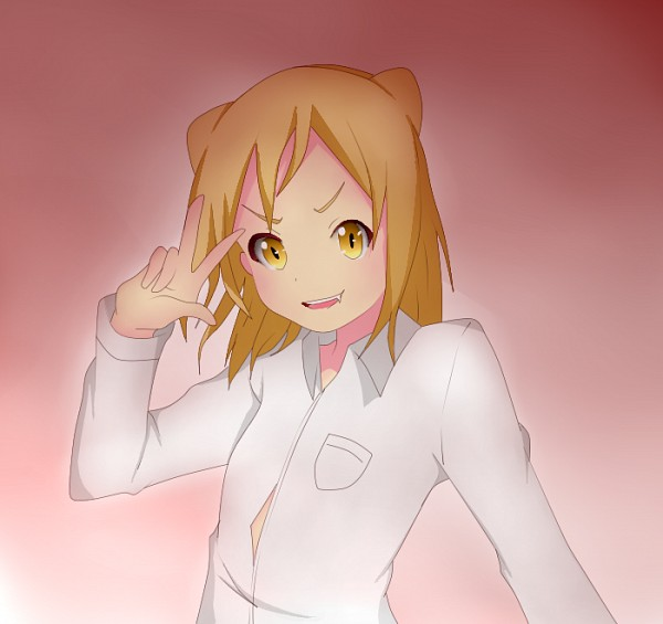 Tags: Anime, Demi-chan wa Kataritai, Takanashi Hikari, Artist Request, Fanart