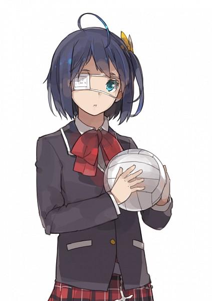 Tags: Anime, Sakura Sora, Chuunibyo Demo Koi ga Shitai!, Takanashi Rikka, Volleyball Ball