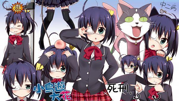 Tags: Anime, Linda B, Chuunibyo Demo Koi ga Shitai!, Takanashi Rikka, Bump, Wallpaper