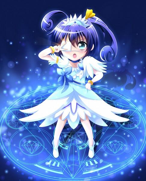 Tags: Anime, Pixiv Id 3241196, Chuunibyo Demo Koi ga Shitai!, Takanashi Rikka, Cure Diamond (Cosplay), Fanart From Pixiv, Pixiv, Fanart
