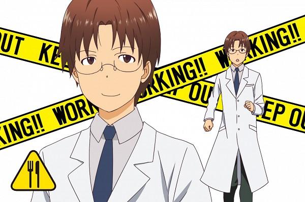 Tags: Anime, Yun (Kinumi0411), Working!!, Takanashi Souta, Kishitani Shinra (Cosplay), Pixiv, Fanart