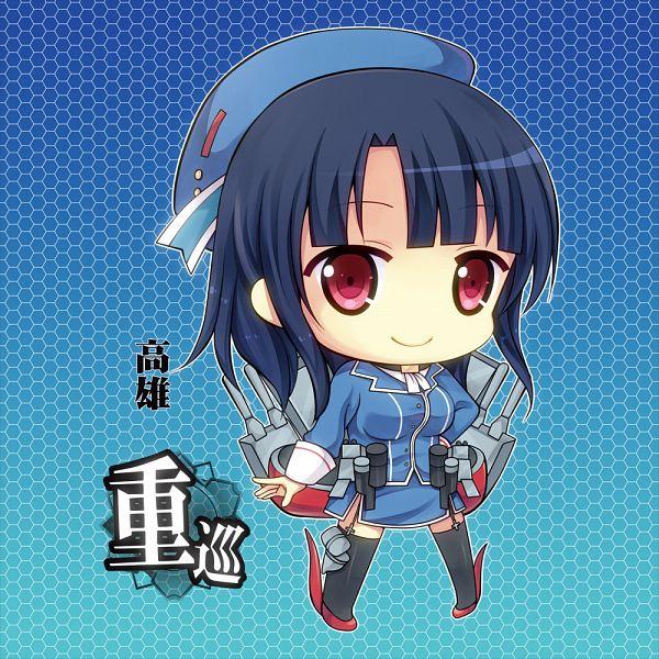 Tags: Anime, Narumiya Koneko, Kantai Collection, Takao (Kantai Collection)