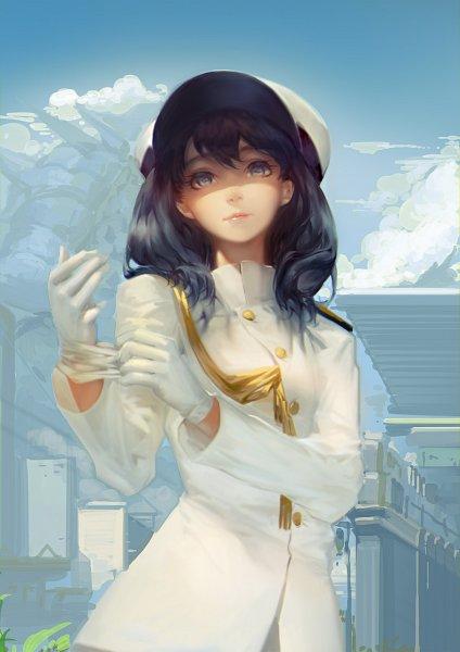 Tags: Anime, BlackRabbitSoul, SSSS.Gridman, Takarada Rikka, Kaiju (Gridman)