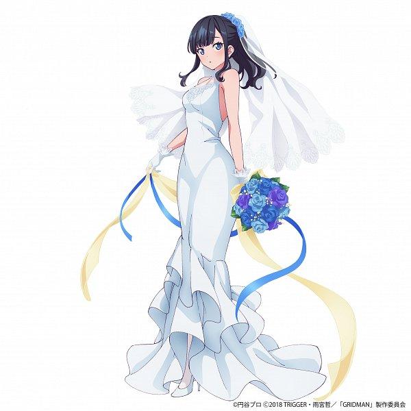 Tags: Anime, Tsuburaya Productions, Trigger (Studio), SSSS.Gridman, Takarada Rikka, Official Art