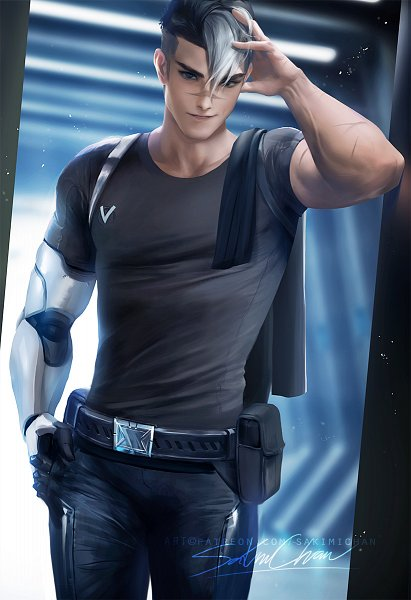 Takashi Shirogane - Voltron: Legendary Defender