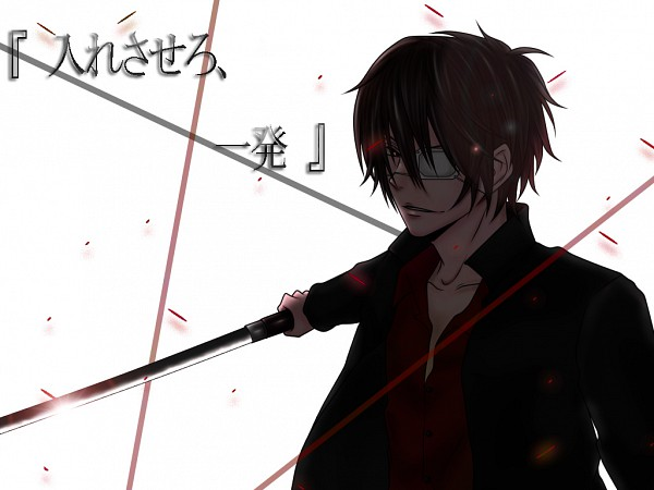 Tags: Anime, Pixiv Id 1652530, Gintama, Takasugi Shinsuke, Wallpaper, Fanart From Pixiv, Fanart, Pixiv, 3z
