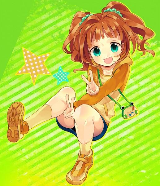 Tags: Anime, Hiyo Kiki, THE iDOLM@STER, Takatsuki Yayoi, Fanart