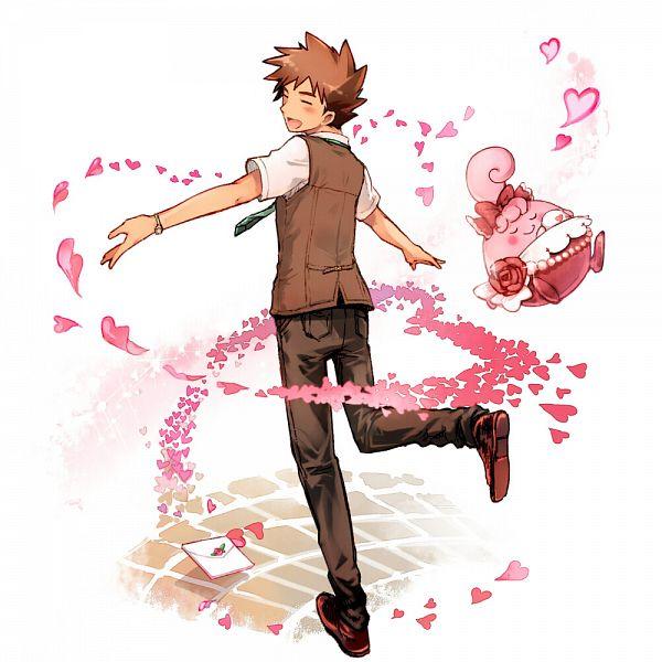 Takeshi (Pokémon) (Brock) - Pokémon Red & Green