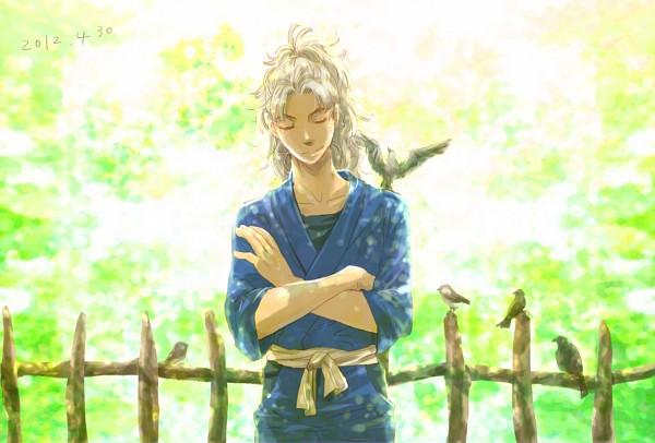 Tags: Anime, Mikiya (Artist), Rakudai Ninja Rantarou, Takeya Hachizaemon, Fanart From Pixiv, Pixiv, Fanart