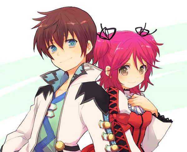 Tags: Anime, Asami (Highway), Tales of Graces, Cheria Barnes, Asbel Lhant