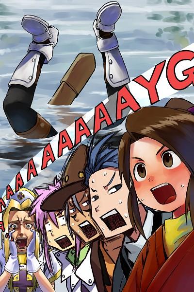 Tags: Anime, Neko (Hansinn), Tales of Phantasia, Cless Alvein, Arche Klein, Fujibayashi Suzu, Mint Adenade, Klarth Lester, Chester Barklight