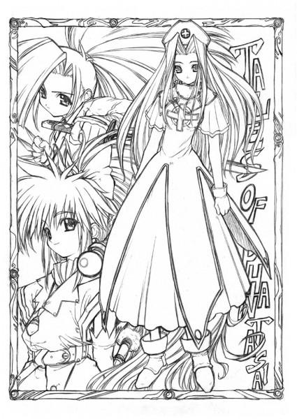 Tags: Anime, Aruni, Tales of Phantasia, Fujibayashi Suzu, Arche Klein, Mint Adenade