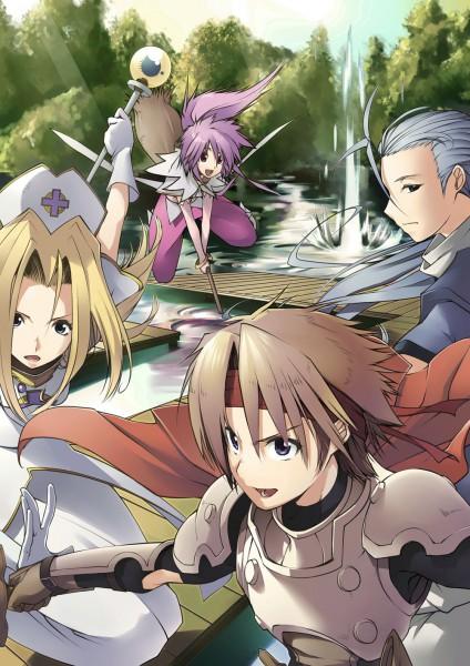 Tags: Anime, Yukari (Konekonekozou), Tales of Phantasia, Arche Klein, Mint Adenade, Klarth Lester, Chester Barklight, Cless Alvein, Fanart