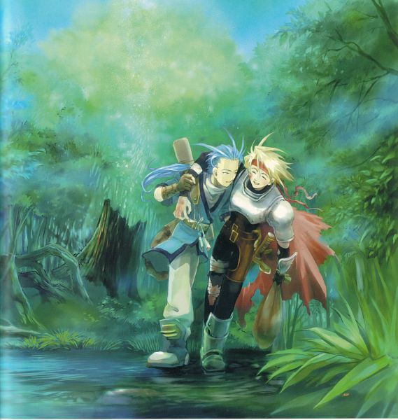 Tags: Anime, Tales of Phantasia, Chester Barklight, Cless Alvein, Artist Request