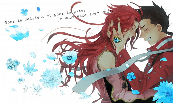 Tags: Anime, Pixiv Id 2384057, Tales of Symphonia, Zelos Wilder, Lloyd Irving, Fanart From Pixiv, Wallpaper, Pixiv, Fanart, Tales Of Symphonia: Dawn Of The New World