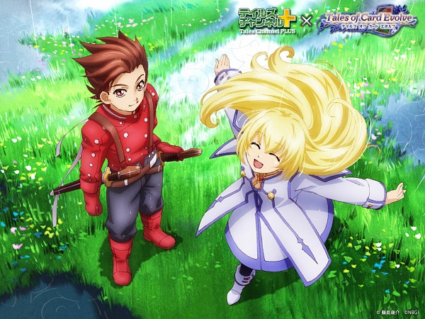 Tags: Anime, Tales of Symphonia, Colette Brunel, Lloyd Irving, Tales Channel Plus, Official Art, Tales Of Symphonia: Dawn Of The New World
