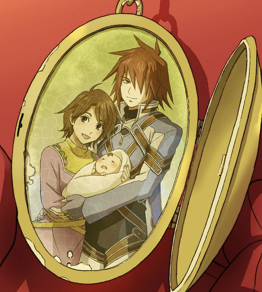 Tags: Anime, Shimabara, Tales of Symphonia, Anna Irving, Lloyd Irving, Kratos Aurion, Fanart, Tales Of Symphonia: Dawn Of The New World
