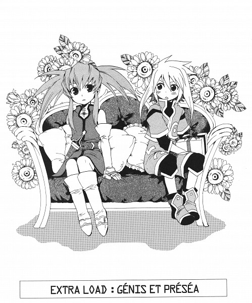 Tags: Anime, Tales of Symphonia, Genis Sage, Presea Combatir
