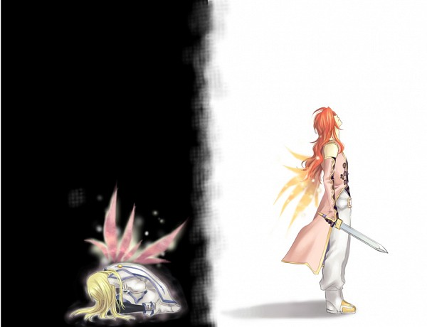 Tags: Anime, Miho (Mi), Tales of Symphonia, Zelos Wilder, Colette Brunel, Tales Of Symphonia: Dawn Of The New World