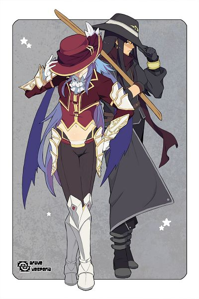 Tags: Anime, Silvis, Tales of Vesperia, Yuri Lowell, Judith (Tales of Vesperia)