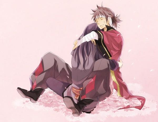 Tags: Anime, Pixiv Id 345276, Tales of Vesperia, Raven (Tales of Vesperia), Yuri Lowell