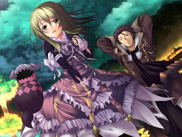 Tags: Anime, Furuikeya, Tales of Xillia, Tipo (Tales of Xillia), Elise Lutas, Alfred Vint Svent