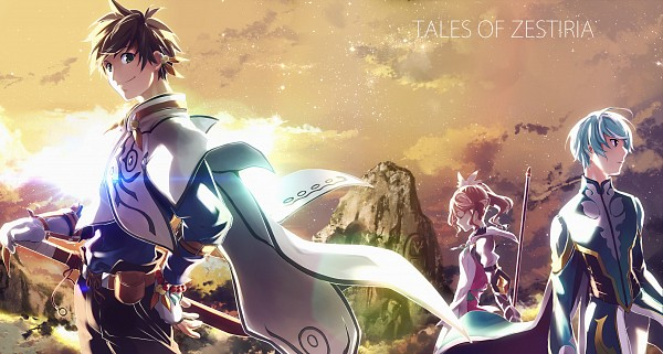 Tags: Anime, Pixiv Id 4313295, Tales of Zestiria, Alisha Diefda, Sorey (Tales of Zestiria), Mikleo (Tales of Zestiria), Wallpaper, Pixiv