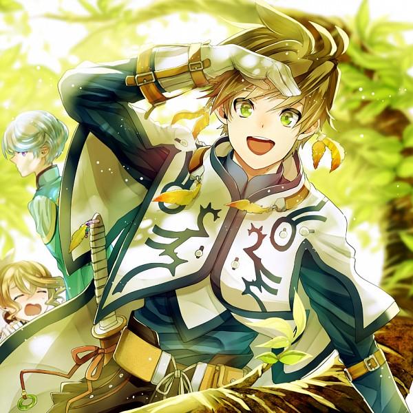 Tags: Anime, Fuu Takara, Tales of Zestiria, Sorey (Tales of Zestiria), Mikleo (Tales of Zestiria), Alisha Diefda, Pixiv