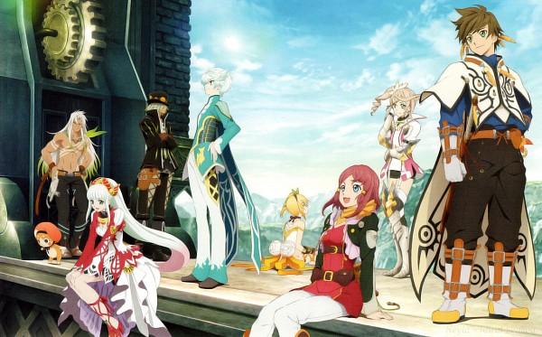 Tags: Anime, ufotable, Tales of Zestiria, Lailah (Tales of Zestiria), Edna (Tales of Zestiria), Rose (Tales of Zestiria), Mikleo (Tales of Zestiria), Zaveid (Tales of Zestiria), Alisha Diefda, Dezel (Tales of Zestiria), Sorey (Tales of Zestiria), Official Art, Scan