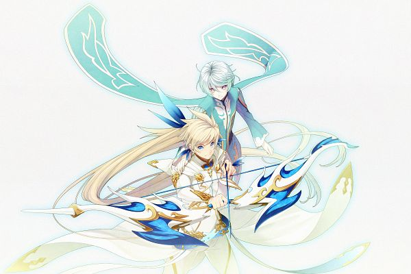 Tags: Anime, 16ban, Tales of Zestiria, Mikleo (Tales of Zestiria), Sorey (Tales of Zestiria), PNG Conversion
