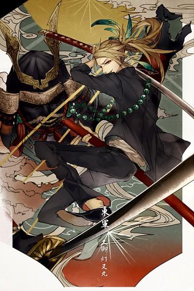 Tags: Anime, Pixiv Id 421582, Japanese Armor, PNG Conversion, Mobile Wallpaper, Pixiv, Tamahagane Gakuen Touransai, Original