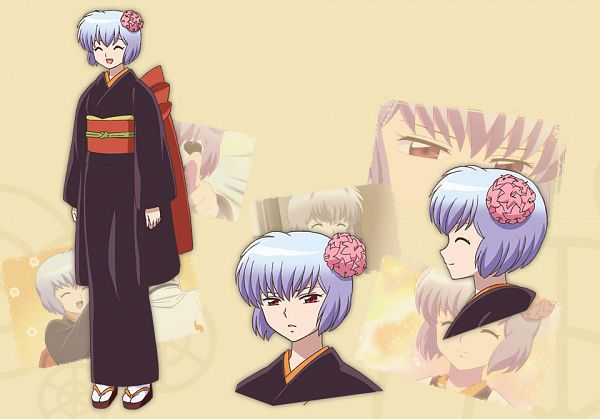 Tags: Anime, Tamura Kazuhiko, Brains Base (Studio), Kyoukai no Rinne, Tamako (Kyoukai no Rinne), Cover Image, Official Art